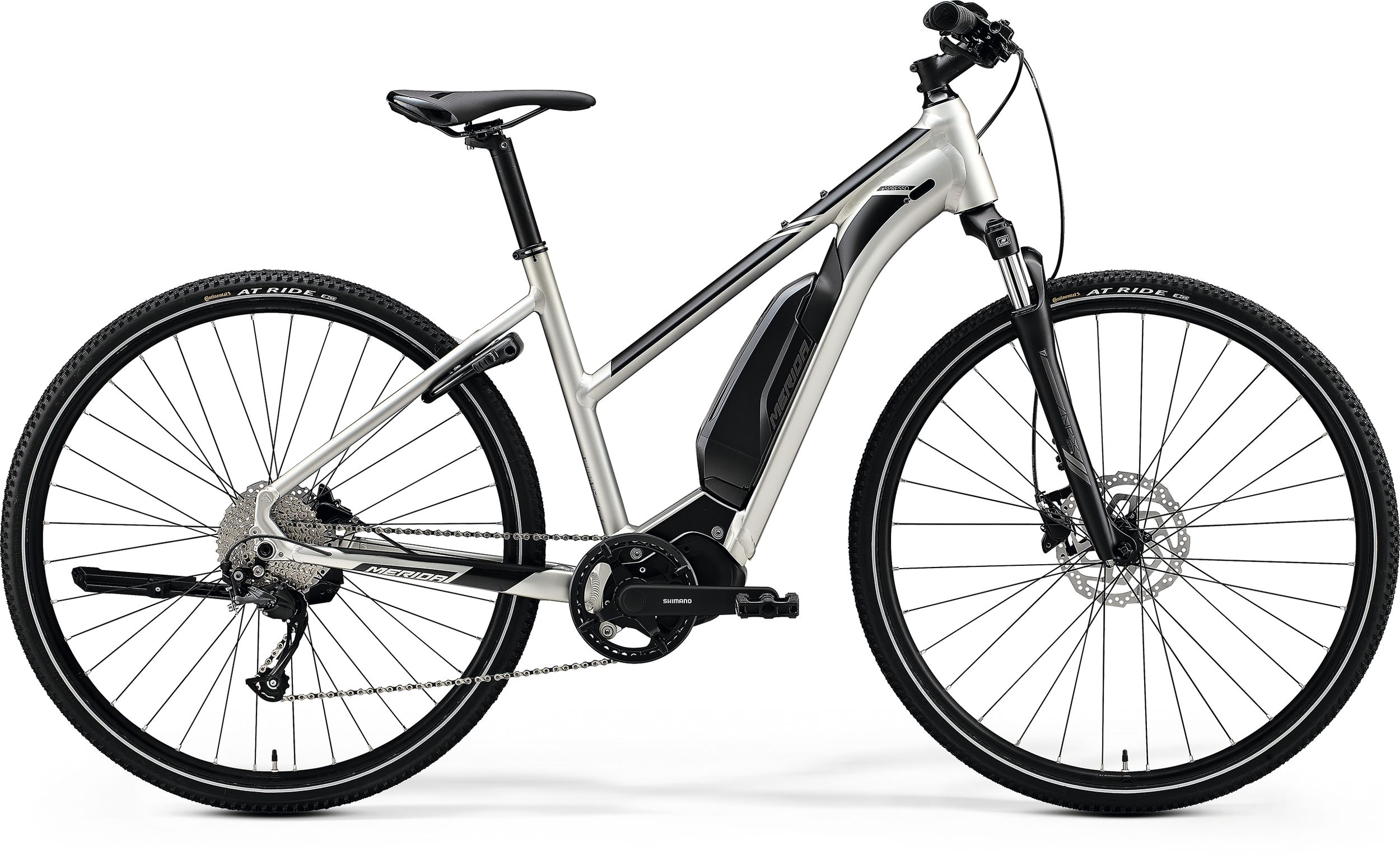 electric trekking bike merida eSPRESSO 200 SE Lady