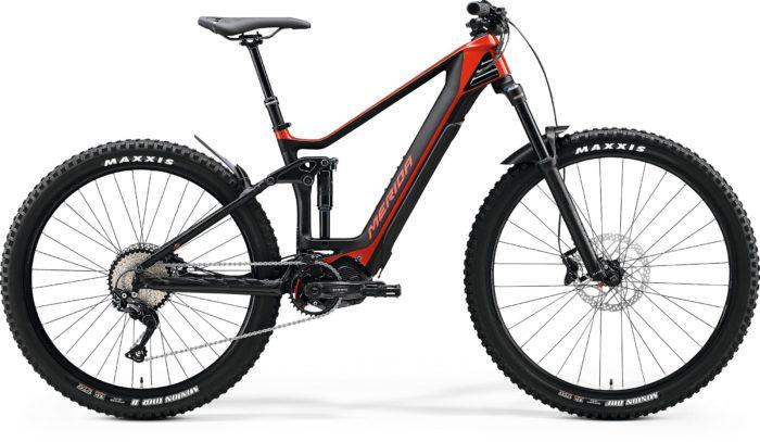 e bike bi ammortizzata Merida e-one forty 4000