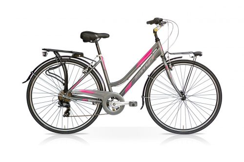 bici da donna city bike Smp climb 26""
