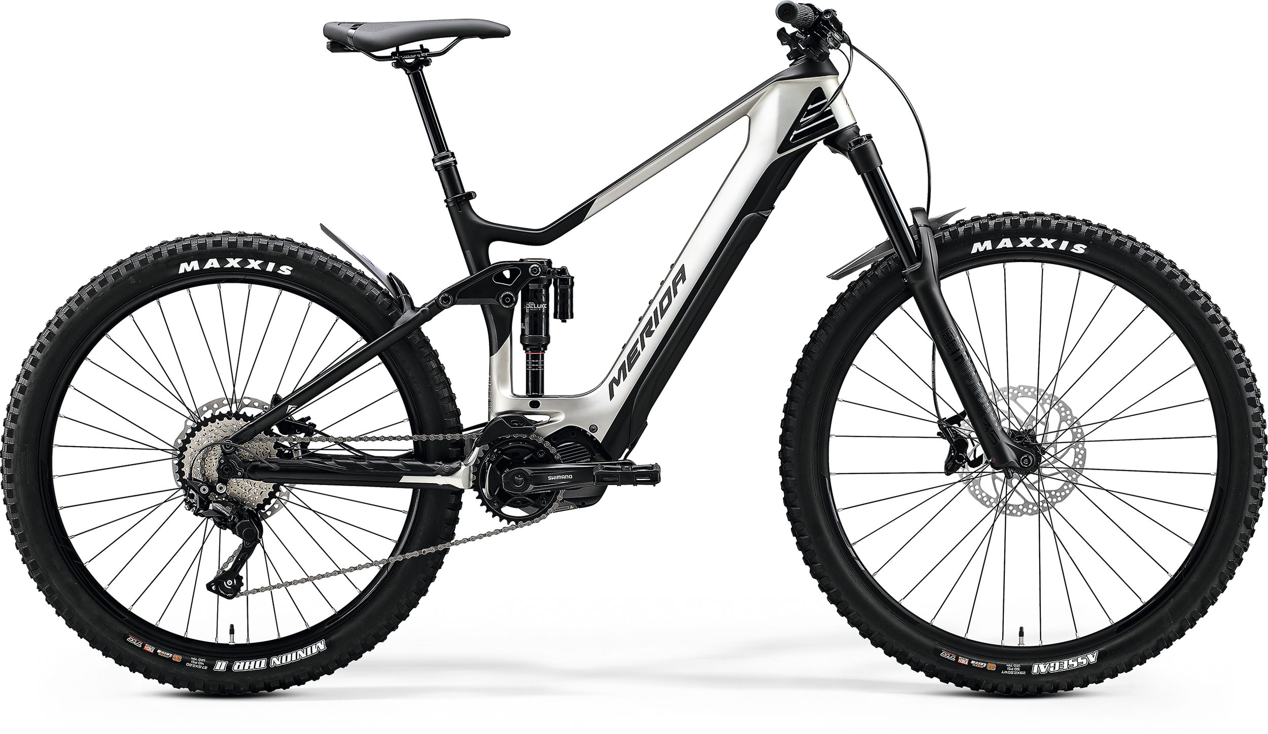 E bike bi ammortizzata Merida e-one sixty 5000