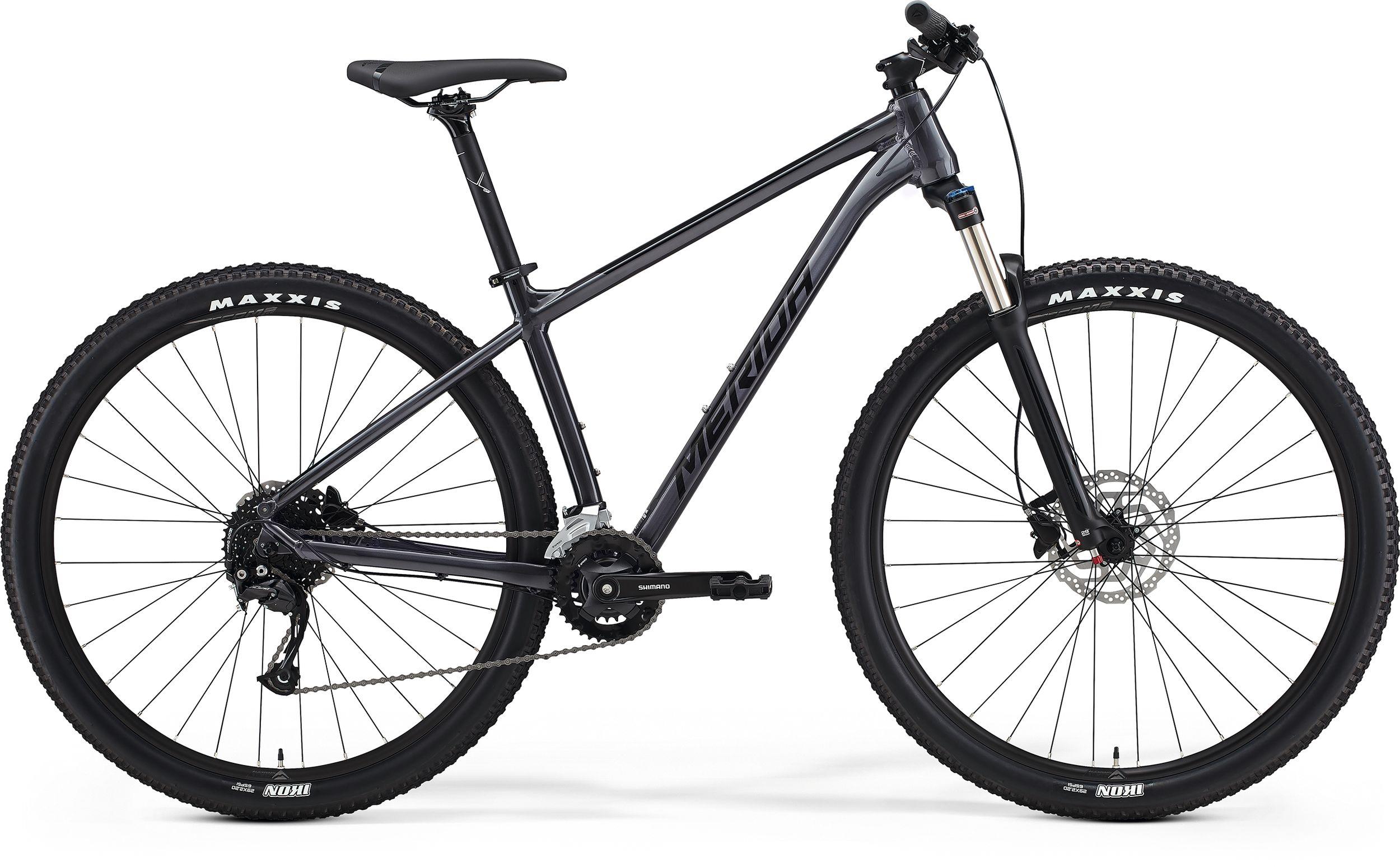 bici mtb merida big nine 100 antracite