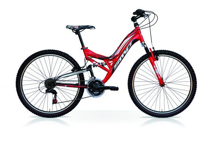 "mountain bike bi ammortizzata Smp climb 26"""