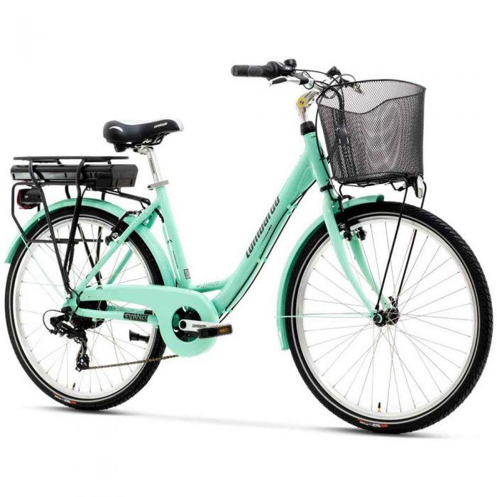 Bicicletta a pedalata assistita da donna Lombardo e-Levanzo