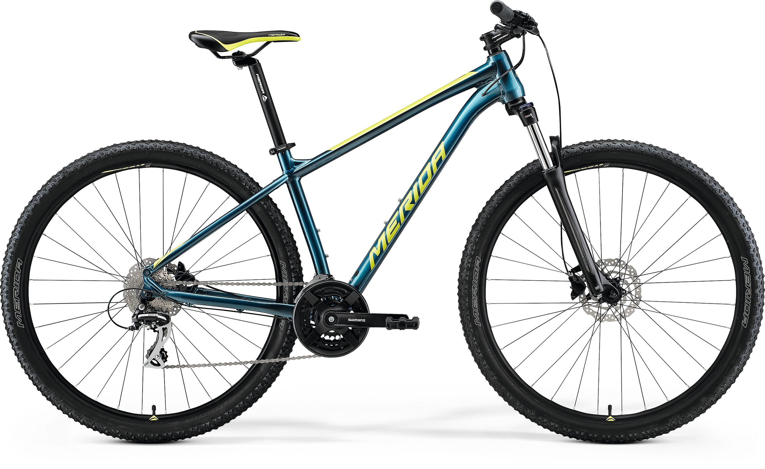 bici mtb merida big nine 20 blu lime