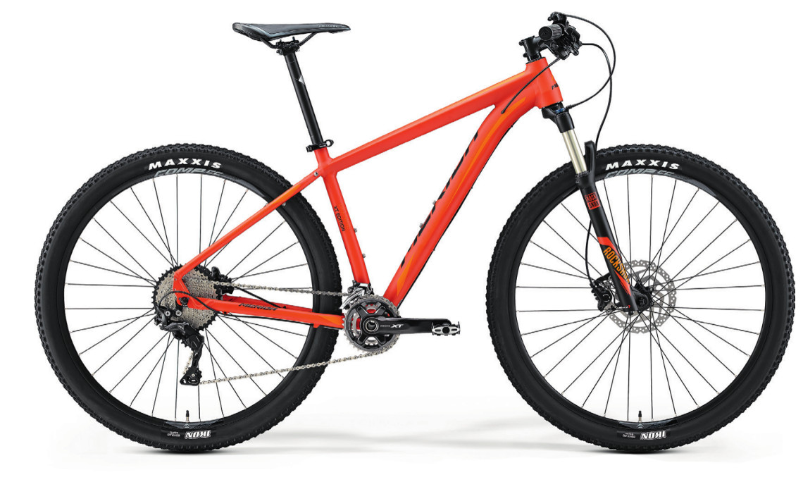 Mountain bike ammortizzata Merida Big Nine xt edition