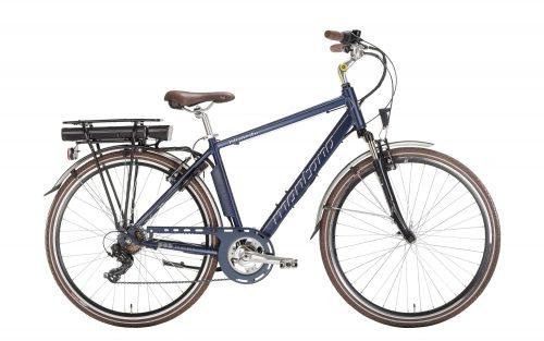 city bike elettrica da uomo Montana E-bluecity man