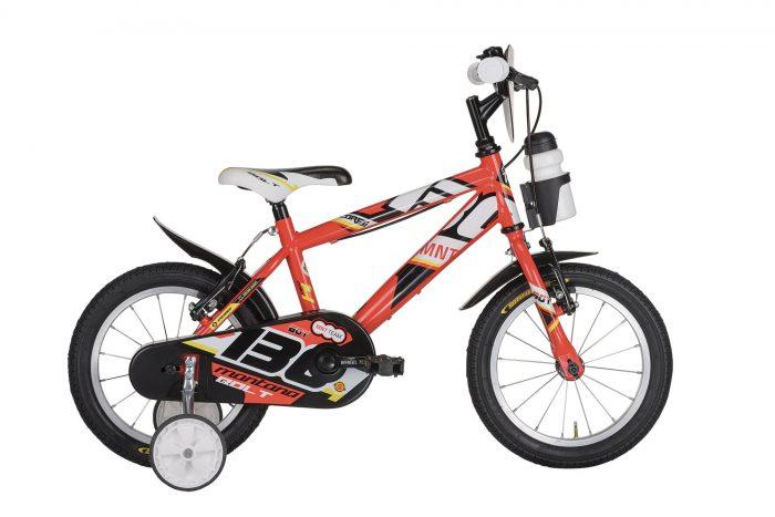 "bicicletta bambino rossa Montana Bolt 14"""