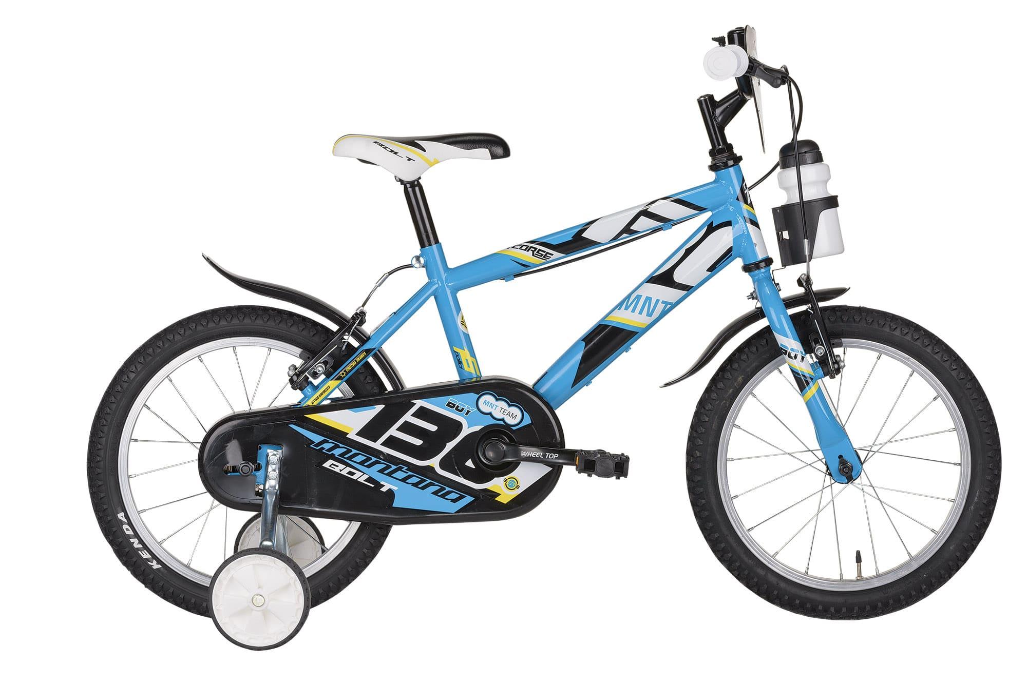 bici bambino blu montana bolt 16
