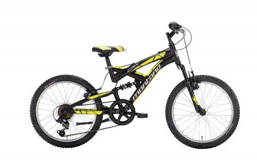 Full suspension mountain bike child crx 20