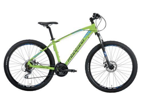 bici mtb montana urano disco gialla