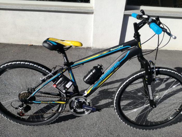 bici lombardo tropea 24 nera