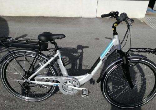 bici citybike elettrica montana ayda
