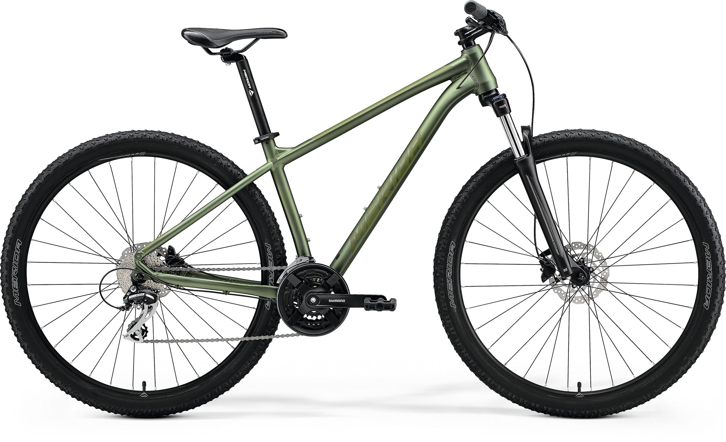 bici mtb merida big nine 20 green