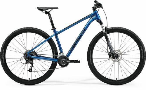 merida big nine 60 mtb bike 2x blue