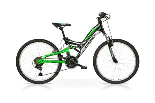 bici mtb sempion climbe 24 verde